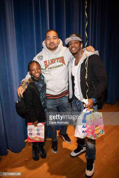 Envy hosts the Cesar DJ Envy's 2018 Holiday Toy Giveaway on December 21 2018 in Paterson New Jersey