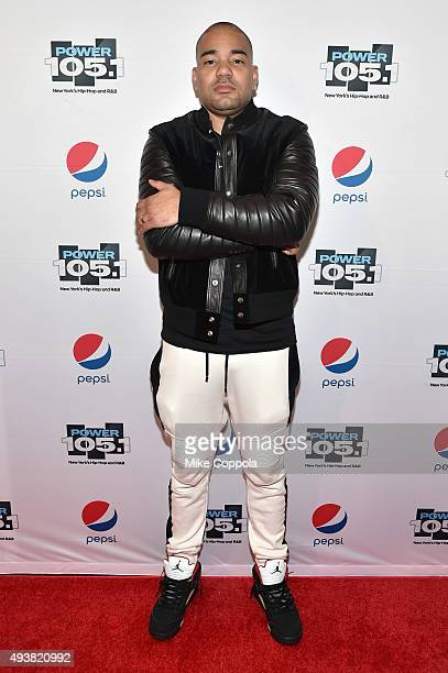 Envy of The Breakfast Club attends Power 1051's Powerhouse 2015 at the Barclays Center on October 22 2015 in Brooklyn NY