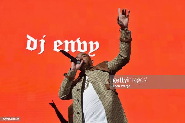 Envy performs onstage during 1051's Powerhouse 2017 at the Barclays Center on October 26 2017 in the Brooklyn New York City City