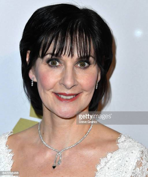 Enya arrives at the PreGRAMMY Gala and Salute to Industry Icons Honoring Debra Lee on February 11 2017 in Los Angeles California