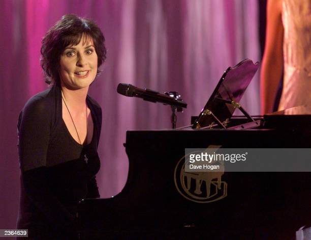 Enya at the World music awards in Monte Carlo 5/2/01 Photo by Dave Hogan/Mission Pictures/Getty Images