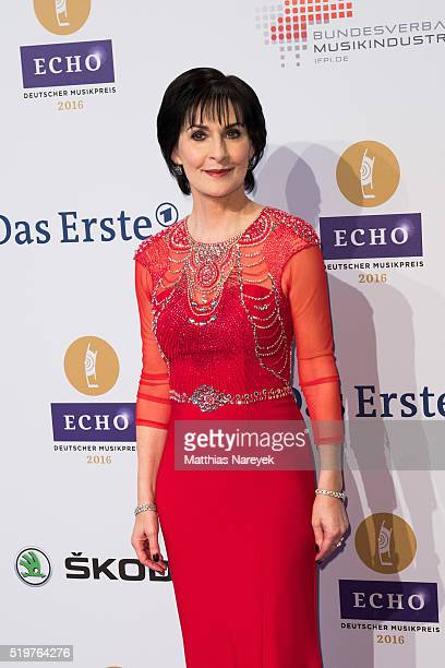 Enya attends the Echo Award 2016 on April 7 2016 in Berlin Germany