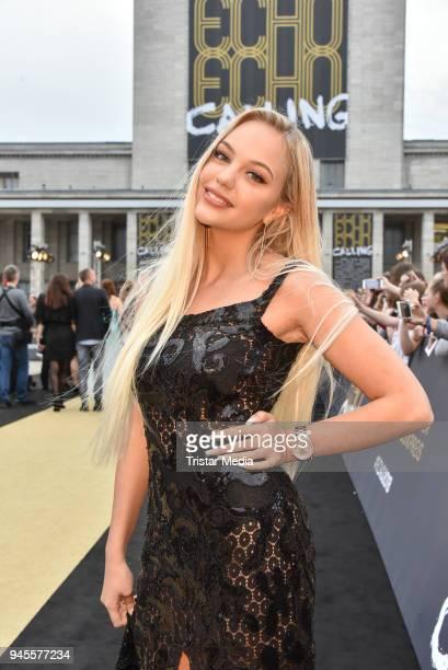 Enya Dress arrives at the Echo Award 2018 at Messe Berlin on April 12 2018 in Berlin Germany