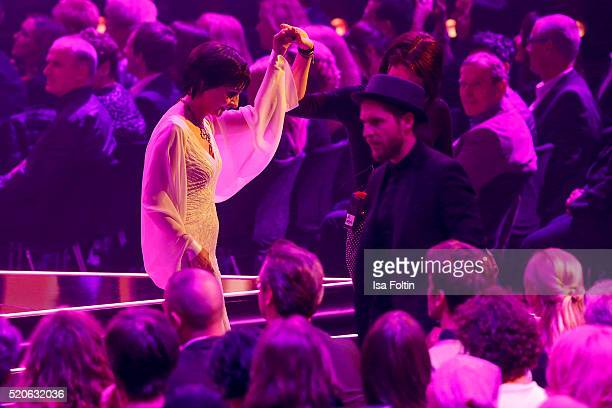 Enya during the Echo Award 2016 show on April 07 2016 in Berlin Germany