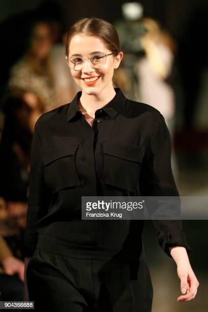 Enya Elstner during the Rodenstock Eyewear Show on January 12 2018 in Munich Germany