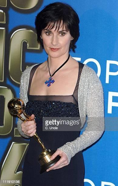 Enya winner of Best Irish Artist during 2006 World Music Awards Press Room at Earls Court in London Great Britain