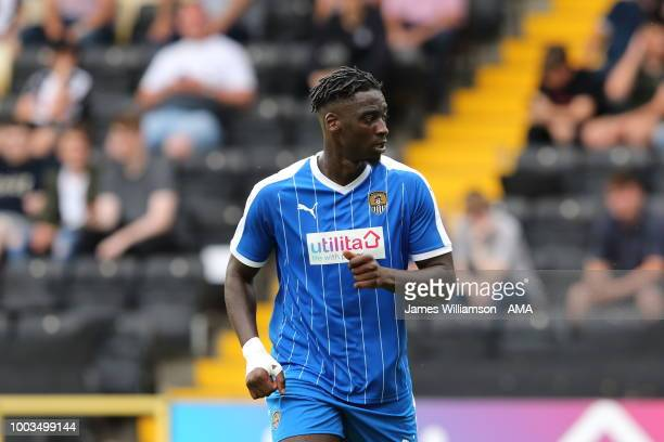 Enzio Boldewijn of Notts County during the preseason match between Notts County and Leicester City at Meadow Lane on July 21 2018 in Nottingham...