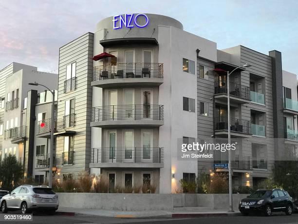 Enzo apartments in Sherman Oaks California on December 24 2017