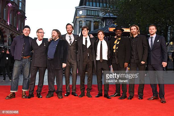 Enzo Cilenti Michael Smiley director Ben Wheatley Armie Hammer Sam Riley Cillian Murphy Babou Ceesay Sharlto Copley and Jack Reynor attend the 'Free...