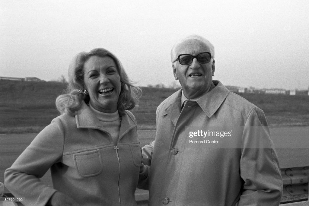 Enzo Ferrari, Joan Cahier : News Photo
