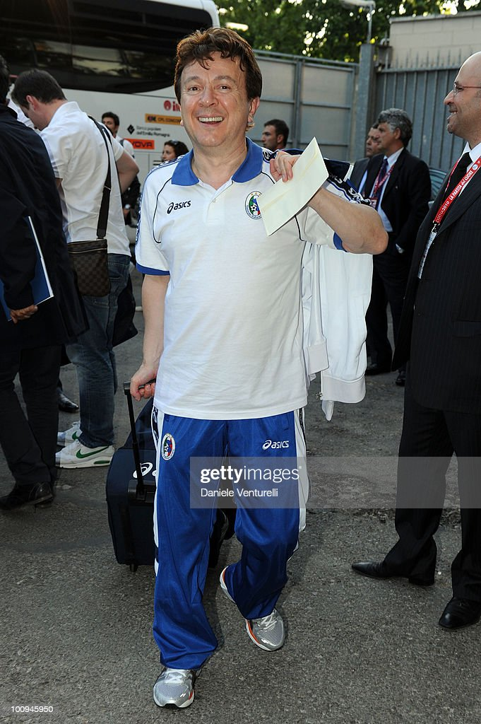 ACCESS** Enzo Ghinazzi attends the XIX Partita Del Cuore charity football game at on May 25, 2010 in Modena, Italy.