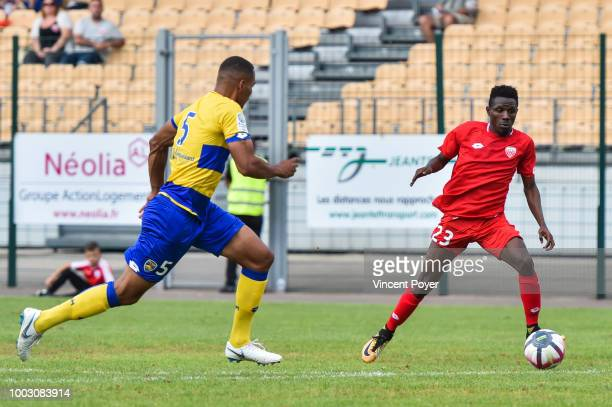 Enzo Loiodice of Dijon during the friendly match between Sochaux and Dijon on July 21 2018 in Besancon France