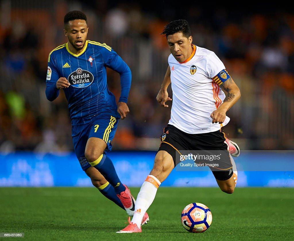 Valencia CF v RC Celta de Vigo - La Liga : ニュース写真