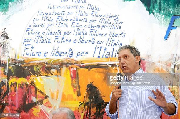 Enzo Raisi attends to the Festa Tricolore on August 31 2010 in Mirabello near Ferrara Italy The Festa Tricolore is organized by the Parliamentarian...