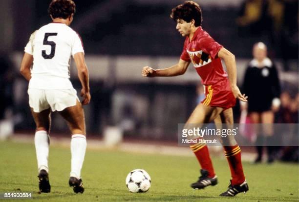 Enzo SCIFO Belgique / Albanie Qualifications Coupe du Monde 1986