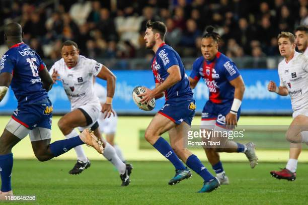 Enzo SELPONI of Grenoble during the Pro D2 match between Grenoble and Oyonnax at Stade des Alpes on December 19, 2019 in Grenoble, France.
