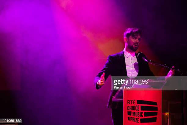 Eoghan McDermott, presenter of the RTE Choice Music Prize at Vicar Street on March 05, 2020 in Dublin, Dublin.