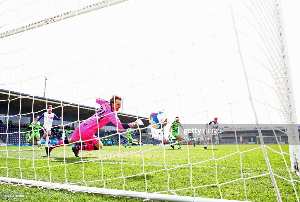Forest Green Rovers v Bolton Wanderers - Sky Bet League Two : News Photo