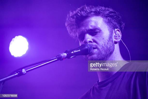 Eoin French aka Talos performs on stage at Barrowlands Ballroom on October 13 2018 in Glasgow Scotland
