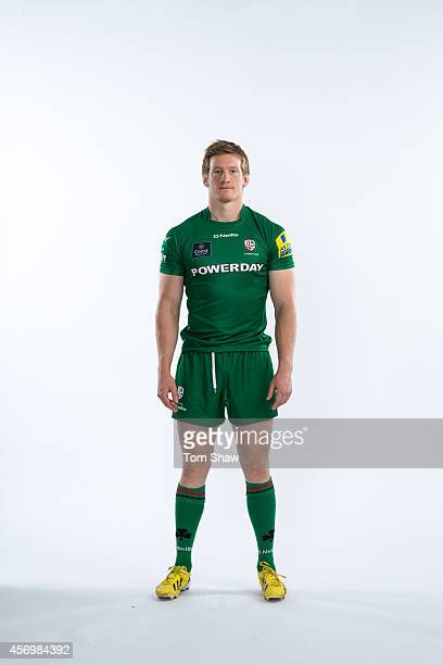 Eoin Griffin of London Irish poses for a picture during the BT PhotoShoot at Sunbury Training Ground on August 27 2014 in Sunbury England