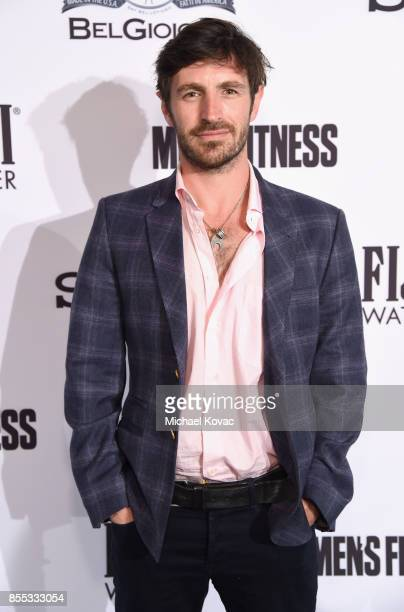 Eoin Macken at the Men's Fitness Game Changers event at Goldstein Residence on September 28 2017 in Beverly Hills California