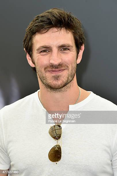 Eoin Macken attends a photocall for the The Night Shift TV series on June 16 2015 in MonteCarlo Monaco