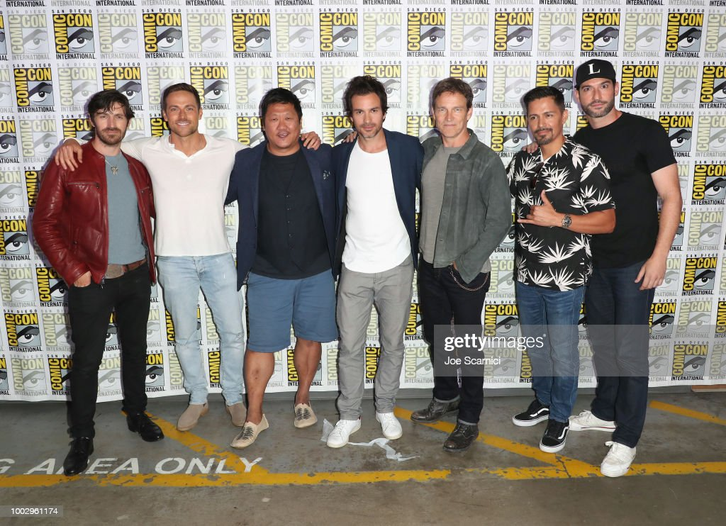 "Entertainment Weekly ""Brave Warriors"" at San Diego Comic-Con 2018 : News Photo"