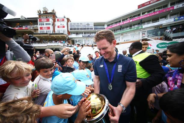 GBR: England ICC World Cup Victory Celebration