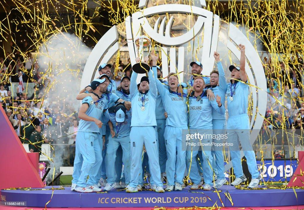 New Zealand v England - ICC Cricket World Cup Final 2019 : News Photo