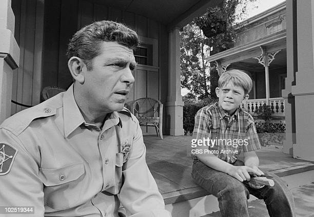 'Opie's Girlfriend' Andy Griffith and Opie Ron HowardAndy Griffith