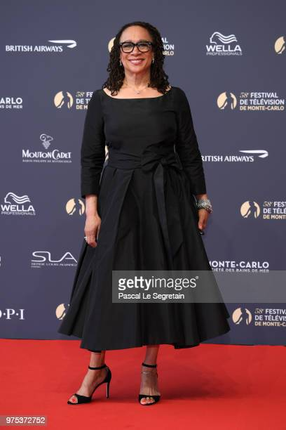 S Epatha Merkerson attends the opening ceremony of the 58th Monte Carlo TV Festival on June 15 2018 in MonteCarlo Monaco