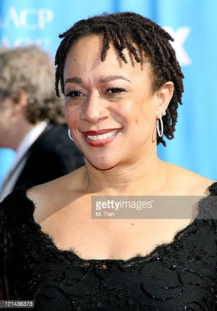Epatha Merkerson during 38th Annual NAACP Image Awards - Arrivals at Shrine Auditorium in Los Angeles, California, United States.