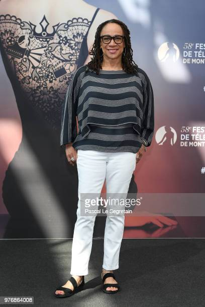 S Epatha Merkerson from the serie 'Chicago Med' attends a photocall during the 58th Monte Carlo TV Festival on June 17 2018 in MonteCarlo Monaco
