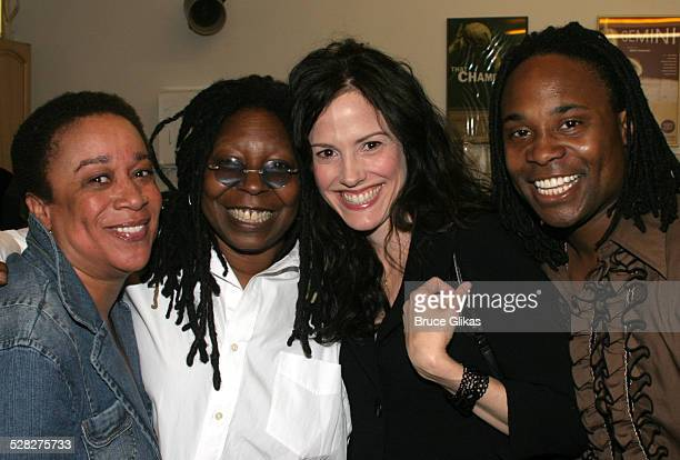 Epatha Merkerson, Whoopi Goldberg, Mary-Louise Parker and Billy Porter *Exclusive Coverage*
