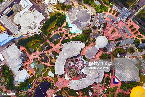 Epcot Center - Aerial View