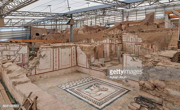 CONTENT] Ephesus terrace houses are located on the hill opposite the Hadrian Temple Also called as the houses of rich important for the reason give...