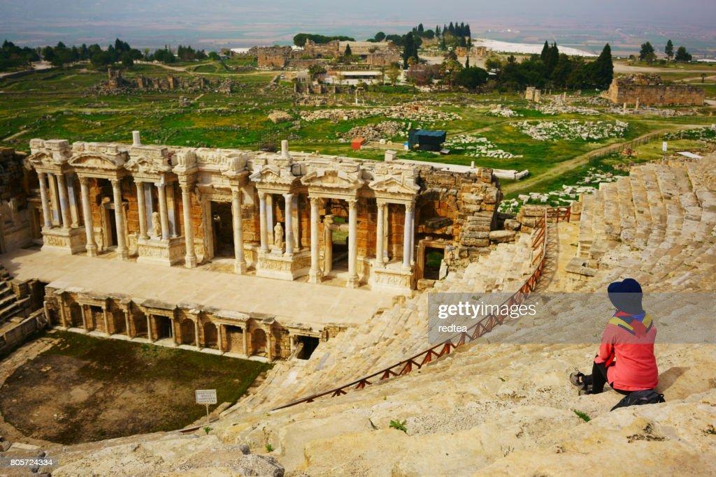 Ephesus theatre, Turkey : Stock Photo