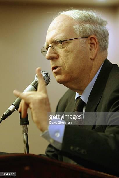 Ephraim Halevi, former head of the Israeli Mossad secret service and a recent advisor to Israeli Prime Minister Ariel Sharon, makes a rare media...