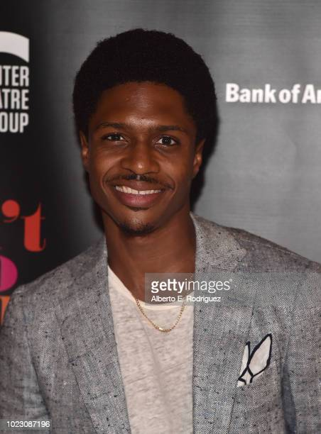 Ephraim Sykes attends the after party for the Opening Night of Ain't Too Proud The Life And Times Of The Temptations at the Dorothy Chandler...