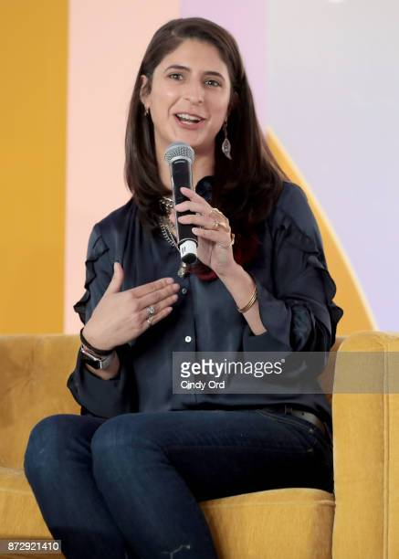 EpiBone CEO Founder Nina Tandon speaks onstage at Girlboss Rally Hosted By Sophia Amoruso's Girlboss on November 11 2017 in New York City