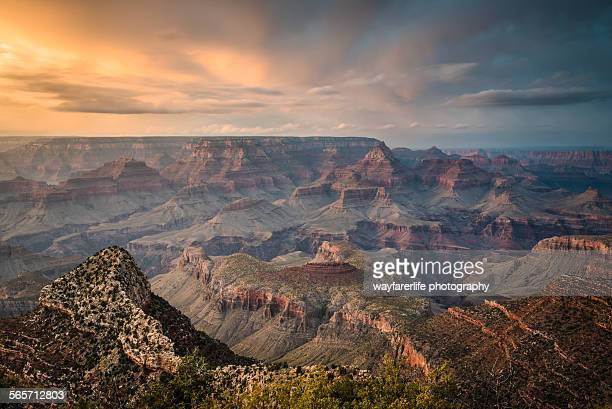 Epic Sunset over Grand Canyon South Rim