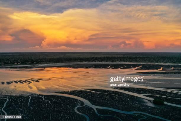 epic sunset - angola bildbanksfoton och bilder