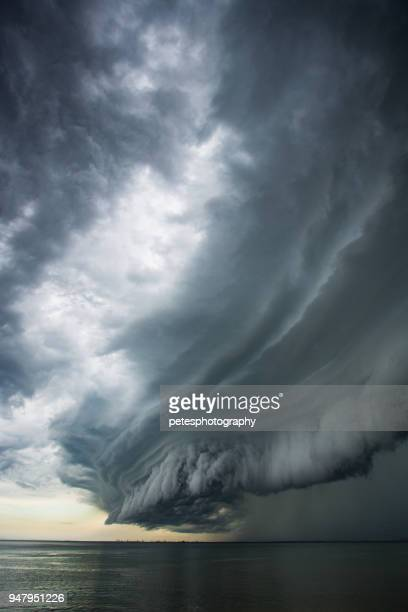 epic super cell storm cloud - monsoon stock pictures, royalty-free photos & images