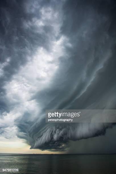 Epic super cell storm cloud