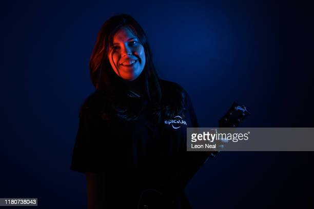 EpicLAN community team worker Skurli poses for a portrait at the epicLAN esport tournament at the Kettering Conference Centre on October 12 2019 in...