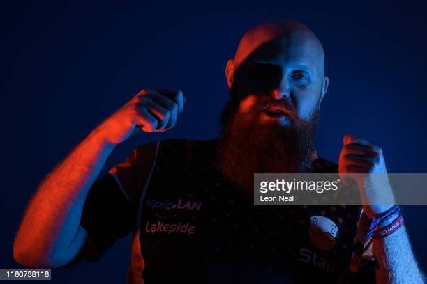 EpicLAN zone host Duty Hero poses for a portrait at the epicLAN esport tournament at the Kettering Conference Centre on October 12 2019 in Kettering...