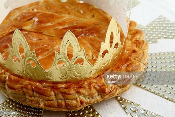 epiphany cake - epiphany stock photos and pictures