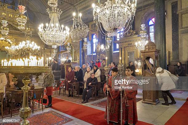 Epiphany ceremony  Panaghia Greek Orthodox church