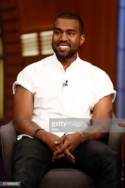 Hip hop artist Kanye West on February 25 2014