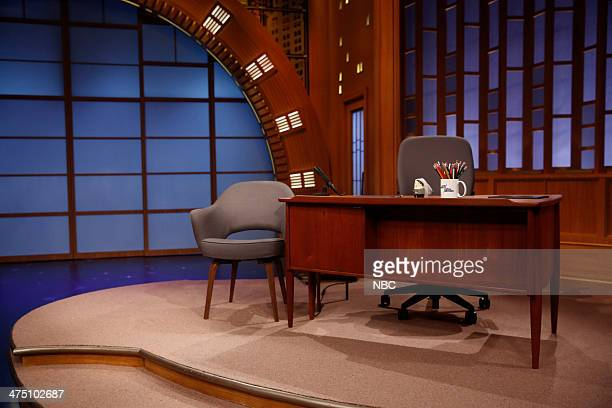 Episode 0003 -- Pictured: Late Night set on February 26, 2014 --